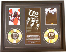 New U2 CD Memorabilia Framed