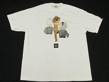 NWT Mens Akomplice T-Shirt Urban Graphic Print Tee White *Made In USA Sz XL M458