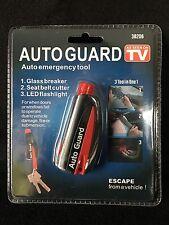 Auto Guard Automobile Emergency Glass Breaker Tool Seat Belt Cutter Seen On Tv
