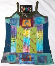 GRINGO FAIR TRADE HIPPY BOHO ETHNIC FESTIVAL SUMMER STRAPPY COTTON VEST TOP XL