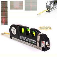 NEW Level Laser Horizon Vertical Measure Tape Aligner Bubbles Ruler Multipurpose