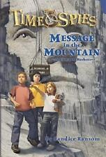 Message in the Mountain (Time Spies)-ExLibrary