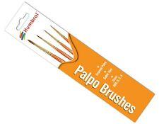Humbrol Hornby Palpo Brush Pack - Size 000/0/2/4 - Ag4250