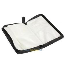 Portable 80 Disc Capacity CD VCD DVD Album Wallet Case Storage Bag Holder Box #L
