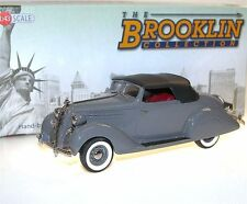 Brooklin BRK 153a, 1936 Hudson Terraplane Custom Six Convertible, grey, 1/43