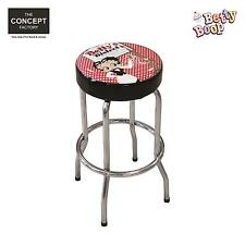Tabouret de Bar Betty Boop Pouf chaise café salon de Thé vintage tendance