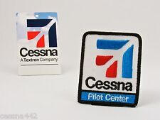 CESSNA Pilot Center - Aircraft OEM Factory Patch - High Quality Embroidered Part