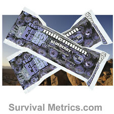 New Millennium Survival & Emergency Disaster Ration Food Bars - Blueberry