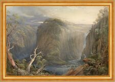One of the falls on the Apsley Conrad Martens Fluß Australien Berge B A3 01306