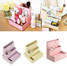 Cosmetic Organizer Clear DIY Makeup Drawers Holder Case Box Jewelry Storage SP