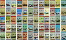 160 x GB British Car Stamps (Auto 100 / Leaders of the World UK Collection)