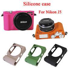 New Soft Silicone case Rubber Body Cover bag For Nikon J5, 1 J5, 1J5 Camera Bag