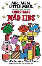 Mr. Men Little Miss Christmas Mad Libs - World Greatest Word Game (paperback)
