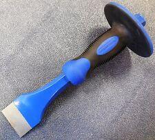 """VAUGHAN 50831 2"""" (51 mm) Solid Steel Floor Chisel w/ Built-In Hand Guard, NEW"""