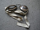 Vintage 1920s British Dispatch Rider Motorcycle Glasses Goggles