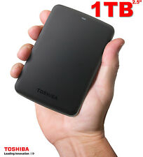 "HARD DISK ESTERNO 1TB 2.5"" Toshiba Canvio Basic USB3.0 & 2.0 HDD 1000GB"