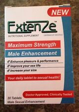 Extenze Maximum Strength Formula Male Enhancement 1 Month - 30 pills