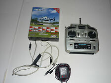 aerofly professional r/c flight simiulator software with 4 channel transmitter