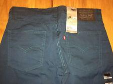 BNWT levis 511 skinny fit mens jeans. Dark Teal blue. W 32 L 32