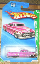 2010 HOT WHEELS TREASURE HUNTS #1-12 LT PURPLE CUSTOM '53 Cadillac Diecast 4+