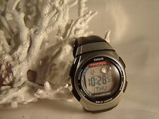 Vintage CASIO WAVE CEPTOR World Time WV-57H Sport Band & NEW BATTERY Watch