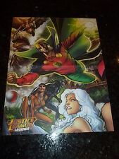 "JUSTICE LEAGUE LEGENDS ""POSTER"" Comic -  Size 10"" by 13"" - Marvel Comic"