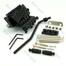 Black Floyd Rose Lic Tremolo Bridge Double Locking System NEW