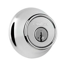 660 Series Single Cylinder Polished Chrome Deadbolt Featuring SmartKey