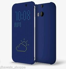 Official Htc Dot View HC M100 Flip Cover For Htc One M8 One M8 Eye M-8 MRP 2499