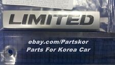 2011+ HYUNDAI Avante Elantra Limited Emblem rear trunk Genuine Part OEM