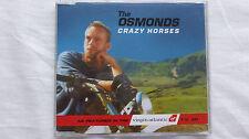 The Osmonds Crazy Horses (Rare/Near Mint) 1995 UK CD Single