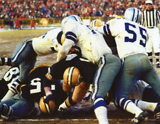 Packers Jerry Kramer Ice Bowl Game Play unsigned 8x10