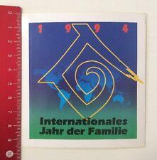 Aufkleber/Sticker: Internationales Jahr Der Familie - 1994 (180416184)