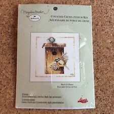 Marjolein Bastin Birds Birdhouse Cross Stitch Kit Unused Hallmark Lanarte 6x6
