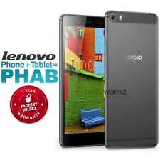 "New Unlocked LENOVO PHAB Plus PB1-770M 6.8"" IPS HD 4G Android Cell Phone Tablet"