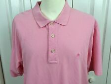 LILLY PULITZER Sz L Pink S/S Polo Shirt Cotton Knit