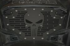 Custom Part Stainless Steel PUNISHER Grille Emblem Grill for Polaris RZR 800/900