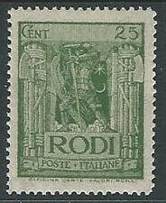 1932 EGEO PITTORICA 25 CENT MH * - M52-3