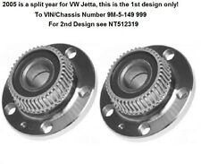 2 VW Beetle, TT, Golf, Jetta Rear Wheel Hub Bearings Assemblies NT512012