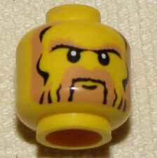 LEGO NEW MINIFIGURE HEAD CASTLE KINGDOMS WITH BEARD FACIAL HAIR MINIFIG FACE