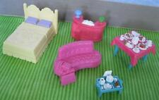 SWEET STREETS DOLLHOUSE Hotel Furniture-Bed Tray Couch Check in Desk Lot, etc.