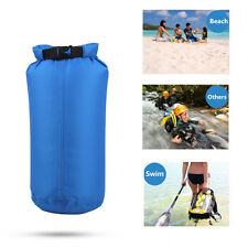 8L Outdoor Waterproof Canoe Swimming Camping Hiking Backpack Dry Bag Pouch Blue