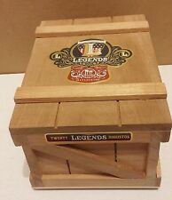 CIGAR BOX STURDY WOODEN FROM DREW ESTATE EXCELLENT CONDITION