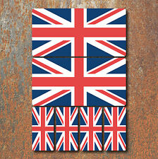 Union Jack Flag Laminated Sticker Set Small Car Motorcycle Norton Triumph Decals