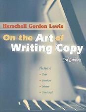 ON THE ART OF WRITING COPY [9780970451545] NEW PAPERBACK BOOK