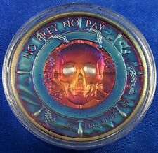 Pirate Series No Prey No Pay Mermaid Ultra High Relief 2 Oz 999 Silver Colorized