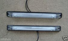 2 LONG AVANT BLANC/TRANSPARENT LED FEUX DE POSITION POUR IVECO SCANIA DAF MAN