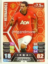 Match Attax 2013/14 Premier League - #195 Javier Hernandez - Manchester United