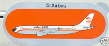 Baggage Label - Airbus - A300 - Old House - Orange Background Sticker (BL439)