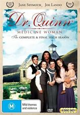 Dr Quinn Medicine Woman Season 6 (the Final Season) DVD NEW